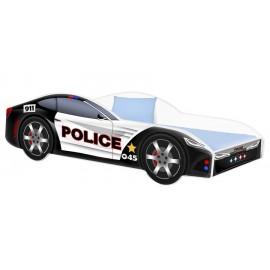 Amila Autoposteľ Polícia 140x70 cm s matracom