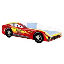 Amila Autoposteľ Cars červená 160x80 cm s matracom