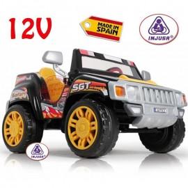 Dvojmiestný terénny Jeep Injusa Pick Up Safari 12V