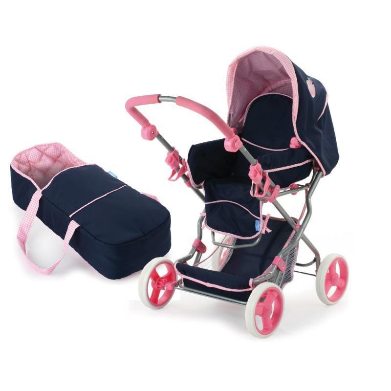 Kombinovaný kočík pre bábiky Hauck Navy