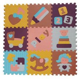 Penové puzzle Svet hračiek