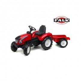 Šliapací traktor Falk Garden Master s vlečkou