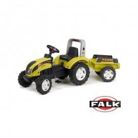 Šliapací traktor Falk Ranch Trac s vlečkou
