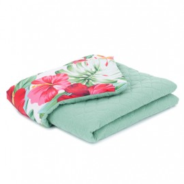Mamo Tato deka mušelínová 75x100 cm Monstera/šalvia