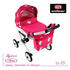 Kočík pre bábiky Adbor Lily LC23