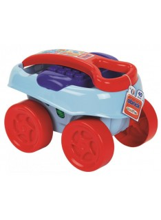 Abrick maxi vozík s kockami 40 ks