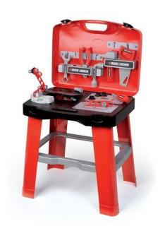 Smoby B&D Pracovný stôl v kufriku