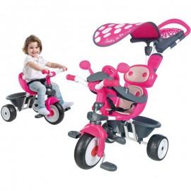 Detská trojkolka Smoby Baby Driver 4v1