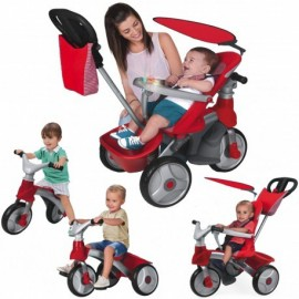 Feber Baby Trike Easy Evolution 4v1 červená