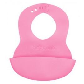 Podbradník silikónový BABY ONO - ružový 835