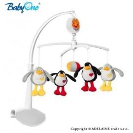 Kolotoč nad postieľku Baby Ono - Tučniaci