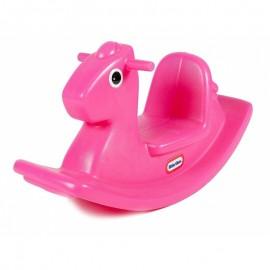 Detská hojdačka Koník Little Tikes ružová