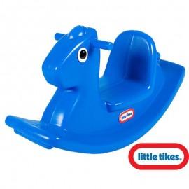 Detská hojdačka Koník Little Tikes modrá