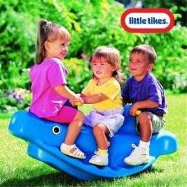 Detská hojdačka Little Tikes Veľryba modrá
