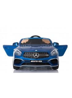 Dvojmiestný Mercedes AMG SL65 xmx-602 modrá metalíza