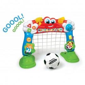 Clementoni Interaktívna futbalová bránka