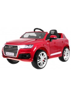 Audi Q7 Quatro S-Line červená metalíza