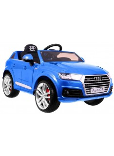 Audi Q7 Quatro S-Line modrá metalíza