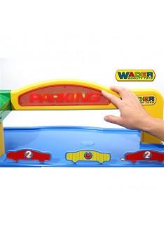Garáž Wader QT Tor Nr.1 Premium a 2 autíčka