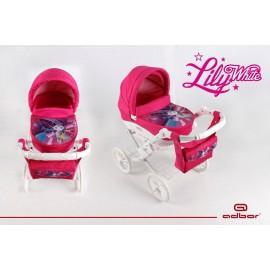 Kočík pre bábiky Adbor Lily White Butterfly