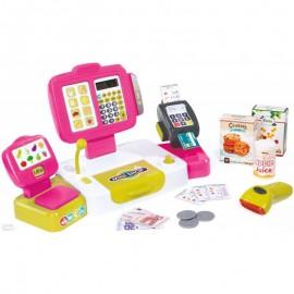 Elektronická pokladňa Smoby s dotykovým displejom 350108
