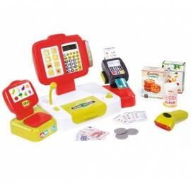 Elektronická pokladňa Smoby s dotykovým displejom 350107