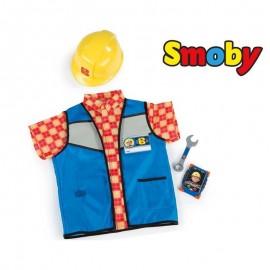 Smoby Pracovné oblečenie Bob staviteľ