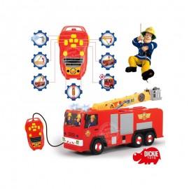 Simba Auto na diaľkové s vodným delom Požiarnik Sam