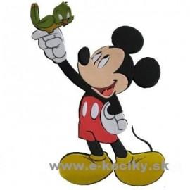 Disney Dekoračná nálepka na stenu Mickey a vtáčik