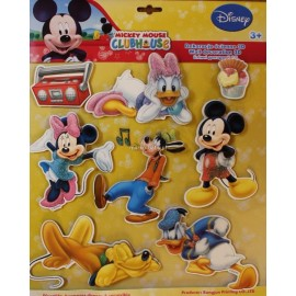 Disney 3D nálepky Mickey Mouse