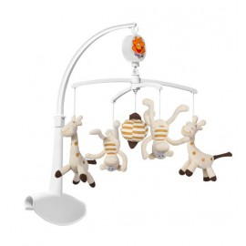 Baby Ono Kolotoč nad postieľku Opice a žirafy 1367