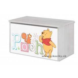 Box na hračky Disney Macko Pú a prasiatko