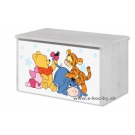 Box na hračky Disney Macko Pú Baby