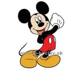 Disney Dekoračná nálepka na stenu Mickey