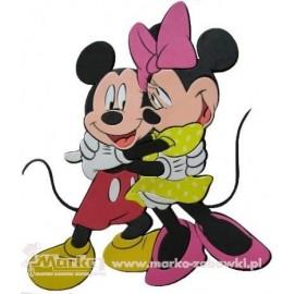 Disney Dekoračná nálepka Mickey a Minie v objatí