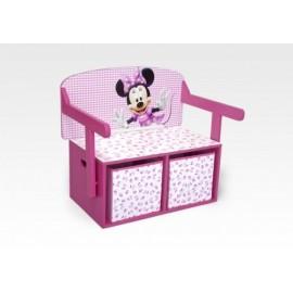 Lavica s úložným priestorom Disney Minnie Mouse