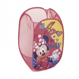 Detský skladací kôš na hračky Minnie Mouse