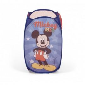 Detský skladací kôš na hračky Mickey Mouse
