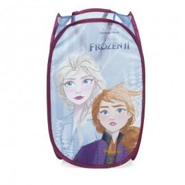 Detský skladací kôš na hračky Frozen