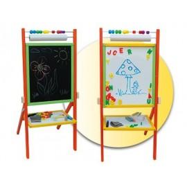 Faro Toys Otočná detská tabuľa farebná OPC