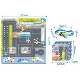 Faro Toys Penové Puzzle Letisko