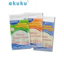 Vrchné plienkové nohavičky Akuku 15 kg