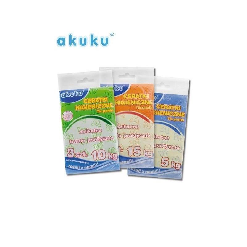 Vrchné plienkové nohavičky Akuku 10 kg