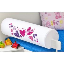 Belisima Chránič na posteľ Srdiečka