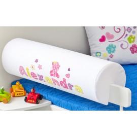 Belisima Chránič na posteľ s menom Baby Pink