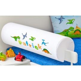 Belisima Chránič na posteľ s menom Dinosauri