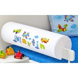 Belisima Chránič na posteľ s menom Lietadlá