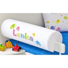 Belisima Chránič na posteľ s menom Sloníci