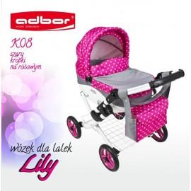 Kočík pre bábiky Adbor Lily K08