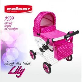 Kočík pre bábiky Adbor Lily K09